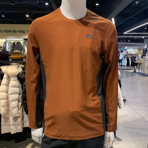 네파 남성 이블리스 라운드 티셔츠 7F55311 633(레자)