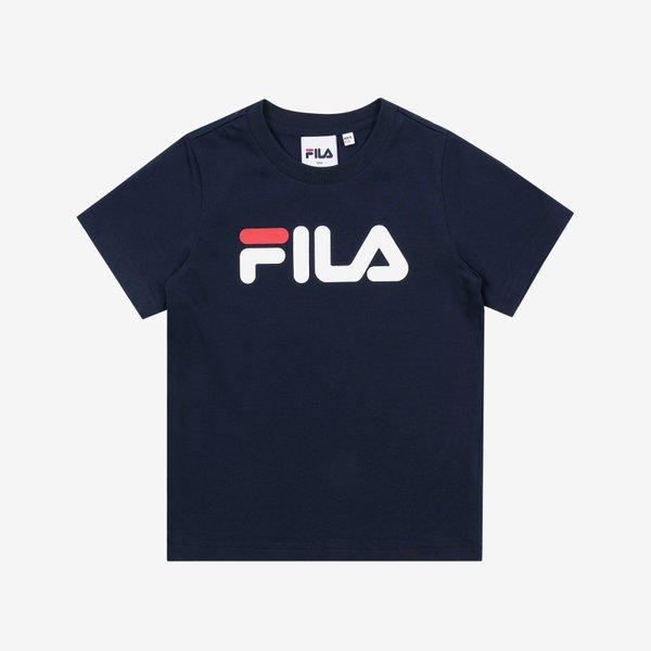 휠라키즈 우노 반팔 라운드 티셔츠 FK2RSB2662X INA