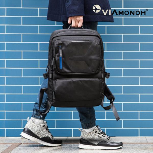 [비아모노] TWO POCKET BACKPACK(VAEF2022) 백 투 스쿨 투 포켓 백팩
